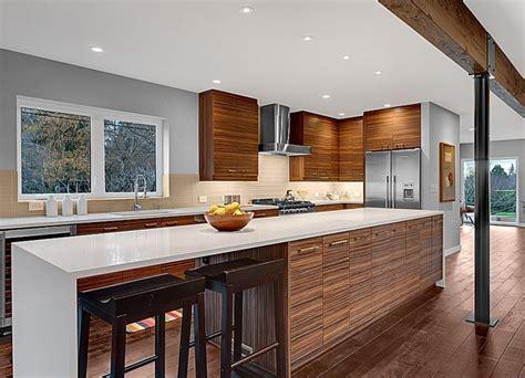 midcentury modern kitchen  hooked  houses