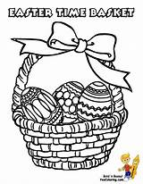 Easter Pages Basket Coloring Baskets Printable Yescoloring Boys Christian Egg Colouring Print Handsome Empty Printables Happy Comments sketch template