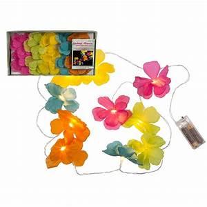 Guirlande Lumineuse Fleur : guirlande fleurs 160cm ~ Teatrodelosmanantiales.com Idées de Décoration