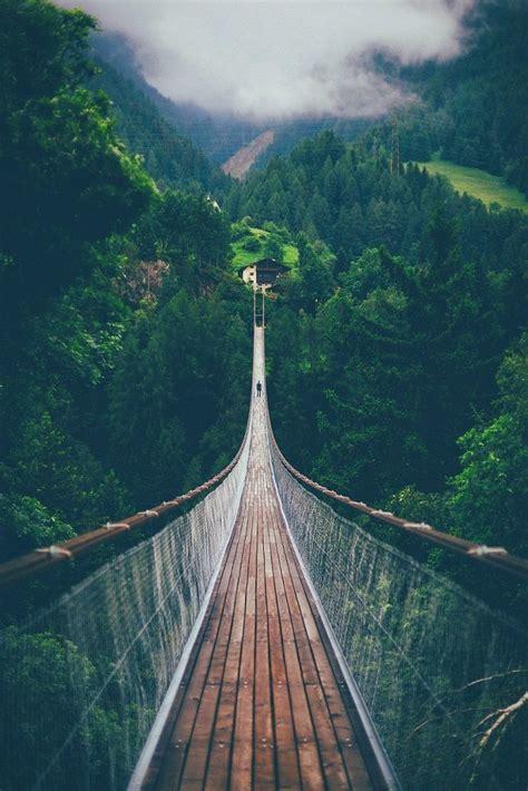 Suspension Bridge In Switzerland  Let's Adventure
