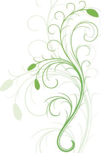 vector graphics swirling floral design element public