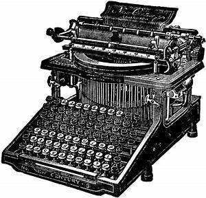 Caligraph Typewriter | ClipArt ETC