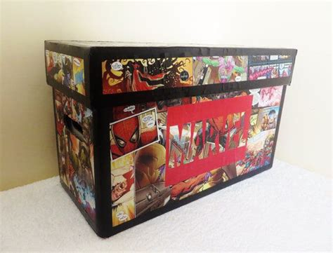 Custom Comic Book Storage Box By Knowheredesign On Etsy