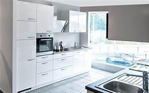 Pantry Küchen Inklusive Moderner Elektrogeräte : einbauk che lyon in hochglanz wei online bei hardeck entdecken ~ Bigdaddyawards.com Haus und Dekorationen