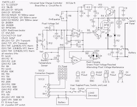 Build Amp Solar Charge Controller Scc Circuit