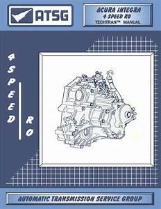 Repair Manual  Acura  Integra  4 Speed Ro   Tat