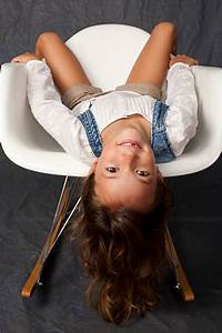 Best, Upside, Down, Child, Studio, Shot, Little, Girls, Stock