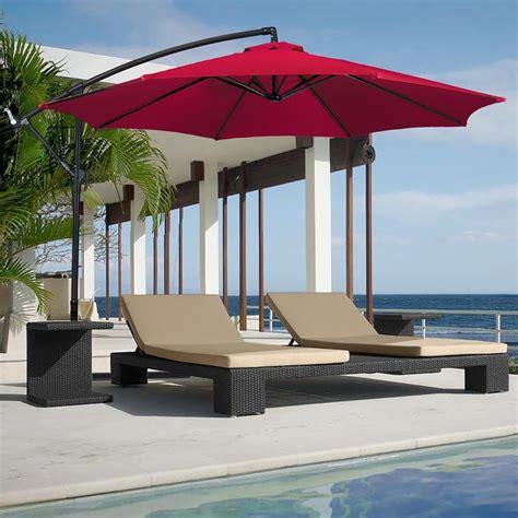 deck umbrellas for comfortable outdoor entertaining