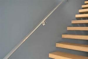 Rampe Pour Escalier : rampe d 39 escalier en inox design interieur lille perenchies nord ~ Melissatoandfro.com Idées de Décoration