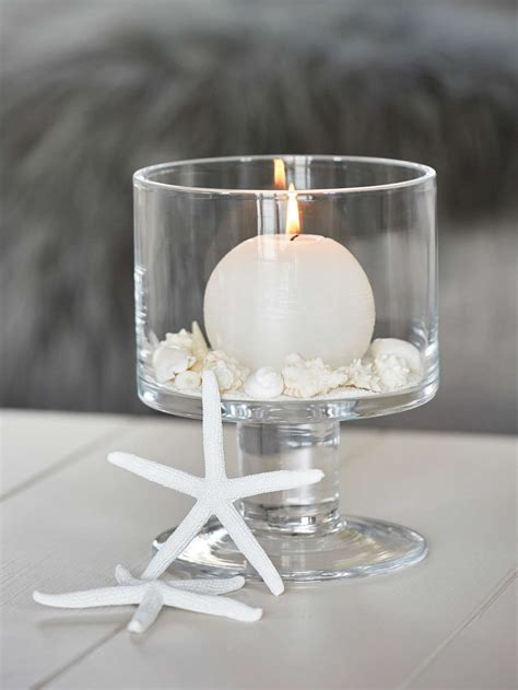 Stylish Glass Hurricane Lamp   Nordic House