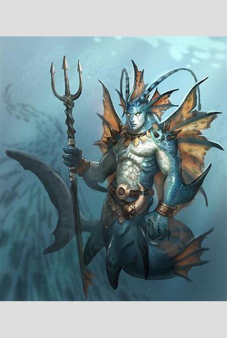 at26.jpg (686×800) | Character Concept art | Pinterest | Warriors, Monster Illustration and Merfolk