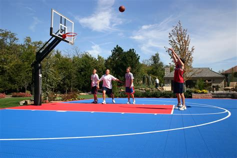driveway basketball goals hoops systems