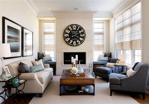 kylemore model home riley traditional living room