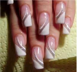French manicure and nail art ideas fashion trend