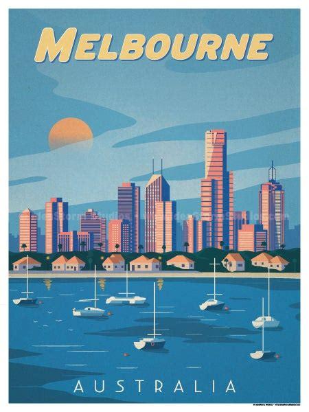 IdeaStorm Studio Store — Melbourne Poster