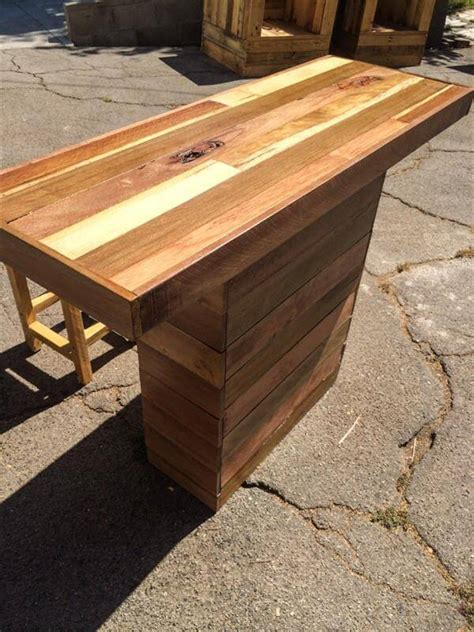 kitchen island made out of pallets rustic kitchen island 101 pallets 9414