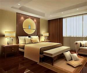 غرف نوم بتصاميم فندقية أنيقة