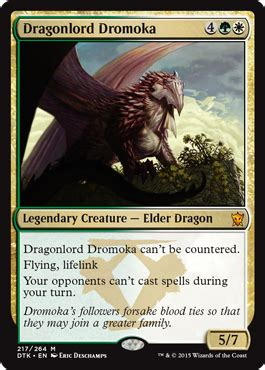 dradonlord dramoka cube card and archetype discussion