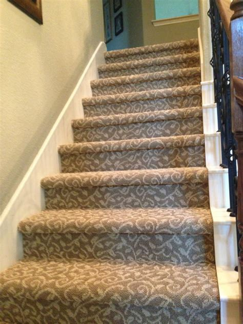 Stair Runner Over Carpet by Tuftex Bella Flora Carpet Stairs