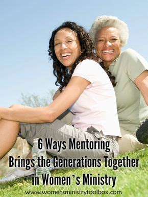 ways mentoring brings  generations   women