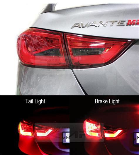 2013 hyundai elantra tail light surface emission rear trunk tail light l 4pcs for