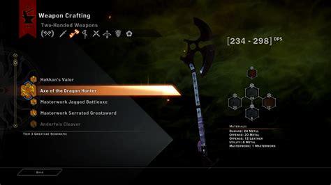 weapons inquisition dragon dragoninquisition
