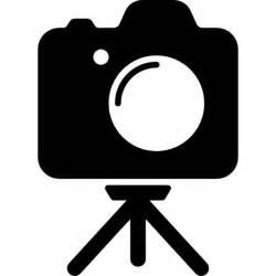 Camera On Tripod Silhouette