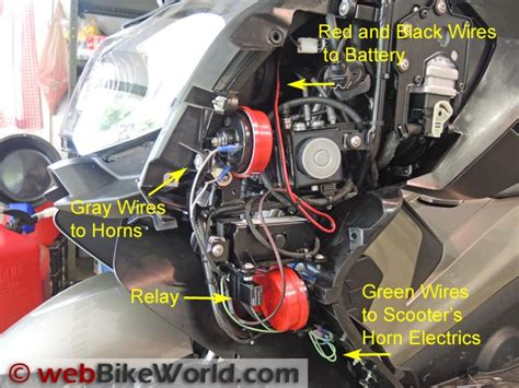 Dual Horn Relay Wiring Harness
