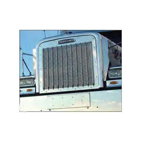 Classic Home Punched Style by Stainless Steel Grille For Freightliner 4 State Trucks