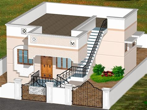 small floor plans 3d house plans indian style garden house style and plans