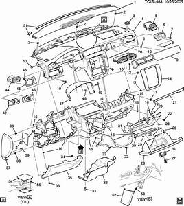 2004 Chevy Silverado Interior Parts Diagram