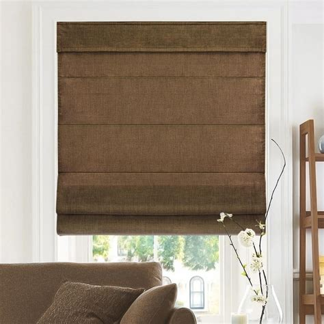 Shade Fabric by Chicology Cut To Width Chocoloate Cordless Fabric