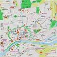 Frankfurt map - Frankfurt am Main, Germany city center ...