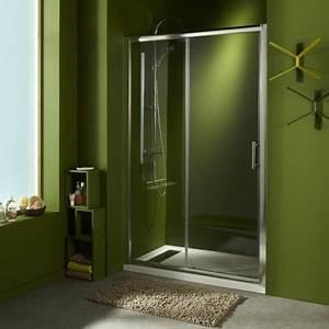 Porte de douche en verre portes pour douche style for Douche porte coulissante