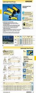 C1 Hydraulic Pump Enerpac