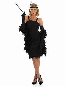 Adult 20s Roaring Black Flapper Costume | Flappers 20s style and 1920s