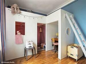 Lit Enfant 4 Ans : chambre enfant nos bonnes id es pour gagner de la place elle d coration ~ Teatrodelosmanantiales.com Idées de Décoration