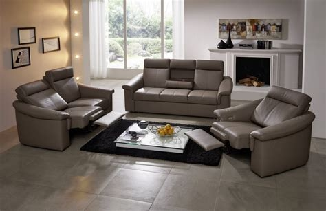 canap relax tissus 3 places canape relax cuir but maison design wiblia com