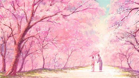 cute pink anime aesthetic desktop wallpapers wallpaper cave