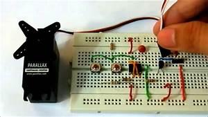 Servo Tester Using 555 Timer