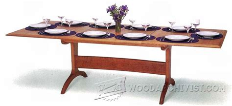 dining room table woodworking plans dining room table plans woodarchivist