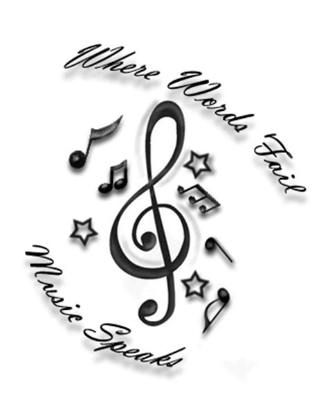 Where Words Fail Music Speaks by OneBulletToTheHeart on DeviantArt
