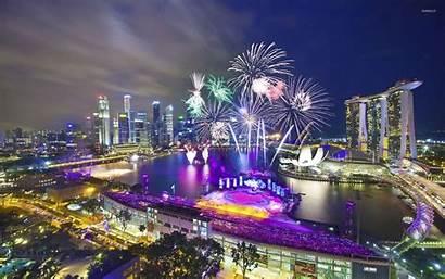 Marina Bay Sands Singapore Wallpapers Republic Asia
