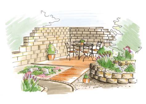 Garten Gestalten Zeichnung by Der Mediterrane Garten Inspiration Zur Gestaltung Obi