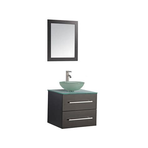 mtdvanities cuba  single wall mounted bathroom vanity