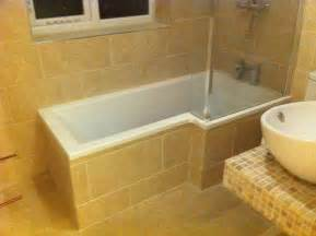 Tiling A Bathroom Floor Around A Toilet by Full Tiled Bathroom Floor Walls Amp Bath Panel 171 Tiler In