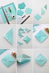Springy, Paper, Garland, Diy