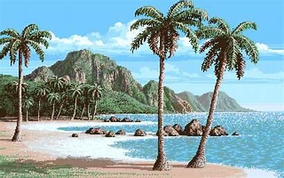 Beach Amiga Leagues Sea Under Archive