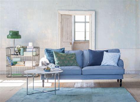 Divano Ikea Stocksund : Shades Of Blue. Ikea Stocksund 3 Seater Sofa Cover In