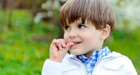 How to stop nail biting habits in children?